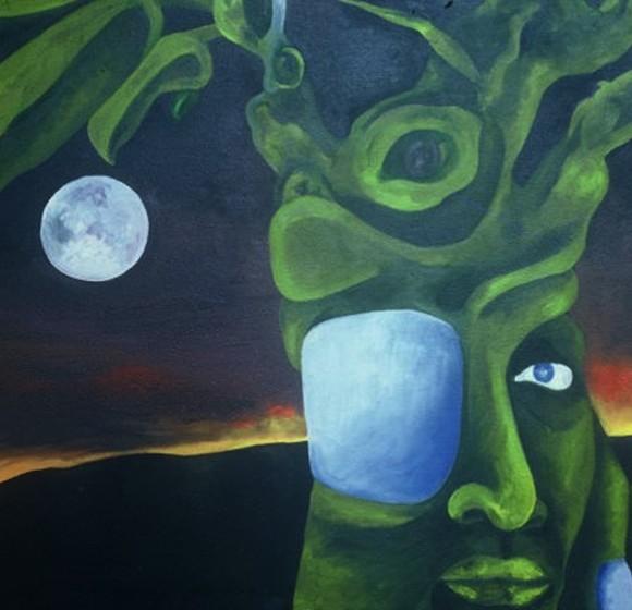 Tree Night Horizon